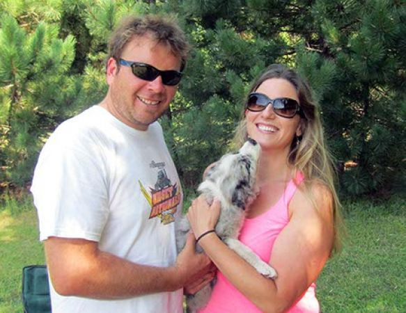 LeLu-Blue Merle Girl Sold to Avellone Family in WI